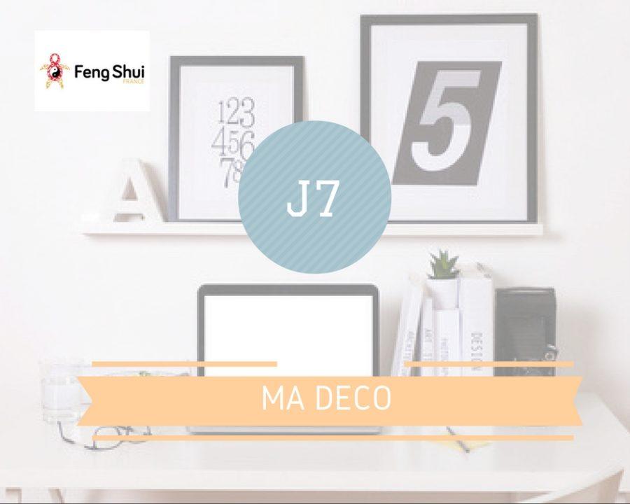 Défi 7 jours de feng shui J7